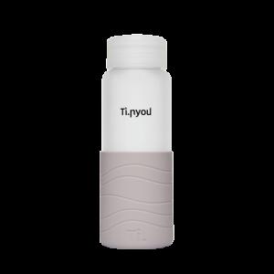 Ti.Bottle-grigio perla